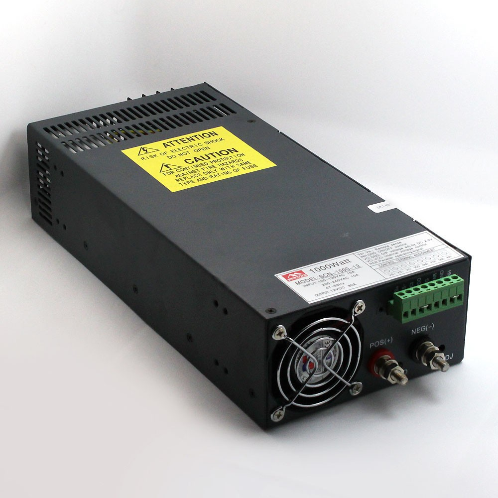 SCN-1000W Single Output Switching Power Supply