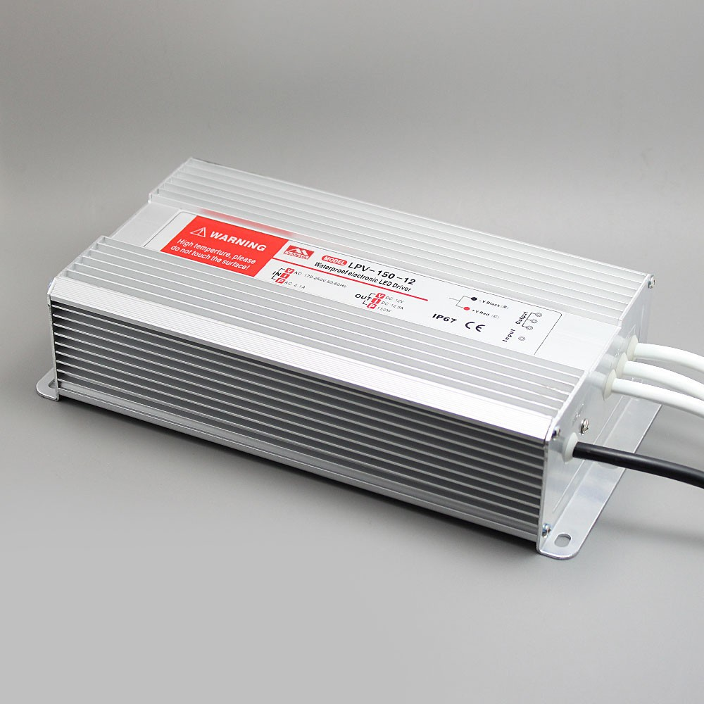 LPV-150W Waterproof LED Switch Power Supply