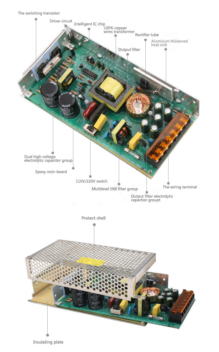 Components of Switching Power Supply